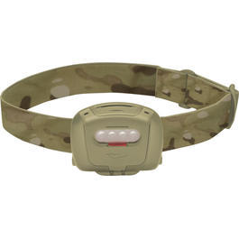 Princeton Tec Quad Tactical LED Stirnlampe sand/multicam