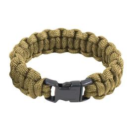 Survival Paracord Bracelet coyote