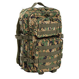 US Assault II Rucksack digital woodland