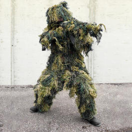 Mil-Tec Ghillie Suit Anti Fire 4-teilig, tarn