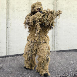 Ghillie Parka Anti-Fire digital desert