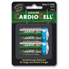 Taschenlampen - Cardiocell LR14Baby BatterienC2 Stück