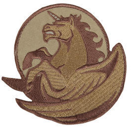 Mil-Spec Monkey Pegasus Unicorn Patch Desert