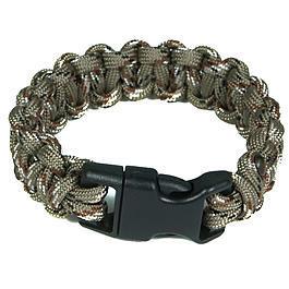 Survival - Mil-Spec Cords Cobra Paracord Bracelet desert