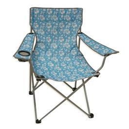 Camping Stuhl Moray Chair Sky Flowers hellblau