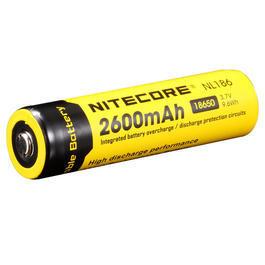 Taschenlampen - Nitecore Lithium Ionen Akku 3,7V 2600mAh