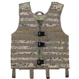 MFH Modular-Weste Molle light operation camo