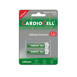 Cardiocell Lithium Extreme Mignonzelle (AA, FR6, L91) 2 St�ck
