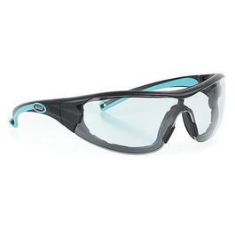 Infield Brille Velor anthrazit t�rkis