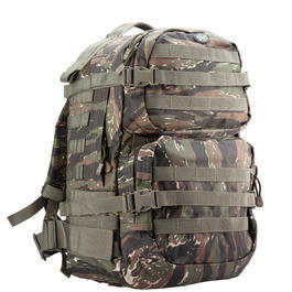 MFH Rucksack US Assault II tiger stripe