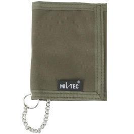 Ausrüstung - Mil-Tec Geldbörse mit Kette oliv