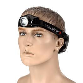 Taschenlampen - LED Lenser Stirnlampe H7.2 schwarz