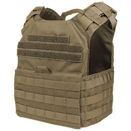 Condor Outdoor Schutzweste Cyclone Lightweight Plate Carrier MOLLE coyote
