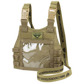 Condor Ausweistasche Mini Plate Carrier ID Panel coyote