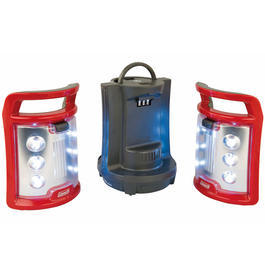 Coleman CPX 6 V Duo LED Laterne rot