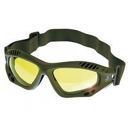 Scorpion Optics Outdoorbrille Tactical Sport Glasses armygreen/gelb