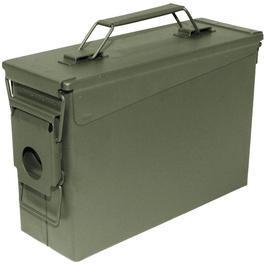 Airsoft-Kugeln - US Munitionskiste M19A1 Metall Kal. 30mm oliv