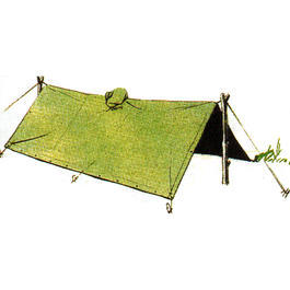 Poncho Liner Steppdecke coyote