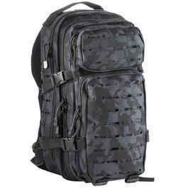 Ausrüstung - MFH Rucksack US Assault I Laser 30L night camo