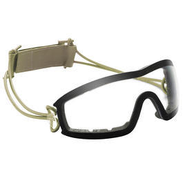 Outdoor - Swiss Eye Sportbrille Infantry rubber oliv/clear