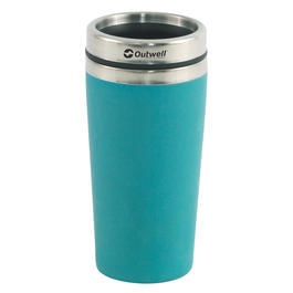 Outwell Thermobecher Bambus 0,4 Liter blau