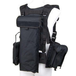Swiss Arms Taktische Weste Chest Rig Warrior schwarz