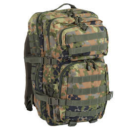 Mil-Tec Rucksack US Assault Pack Large 36L flecktarn