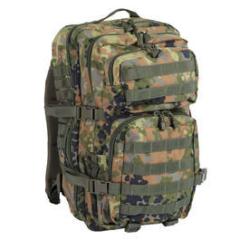 Mil-Tec Rucksack US Assault Pack II 36 Liter flecktarn