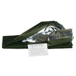 Survival - Mil-Tec Rettungsdecke Survivaldecke 130x215cm wendbar