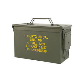 Mil-Tec Munitionskiste US Ammo Box Steel M2A1 cal. 50