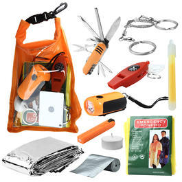 Mil-Tec Outdoor-Survival-Pack large orange