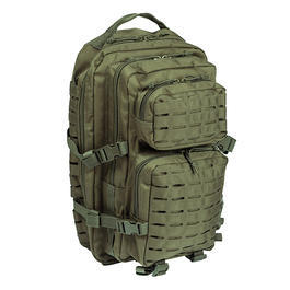 Mil-Tec Rucksack US Assault Pack Laser Cut large 36L oliv