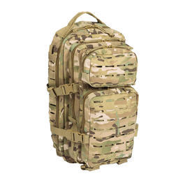 Mil-Tec Rucksack US Assault Pack Laser Cut small 20L multitarn