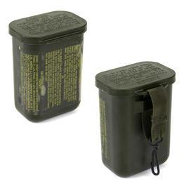 Bundeswehrartikel - Wasserdichte Box Original US Army-Bestand neuwertigoliv