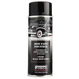 Fosco Spr�hfarbe Army Paint Black High Gloss 400 ml