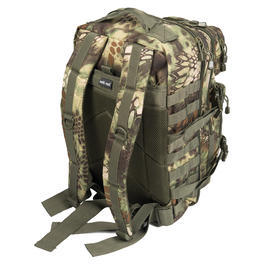Mil-Tec Rucksack US Assault Pack large 36L Mandra wood