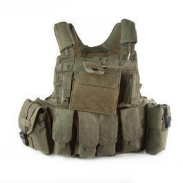 101 INC. Raptor Tactical Vest oliv