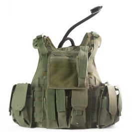 101 INC. Titan Tactical Vest oliv