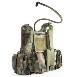 101 INC. Titan Tactical Vest woodland