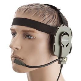 US Shop - Midland Bow-M Headset Evo Tactical mit drehbarem Mikro