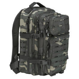 Brandit US Cooper Rucksack Lasercut medium darkcamo
