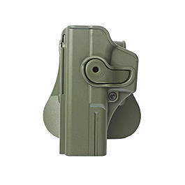 IMI Defense Level 2 Holster Kunststoff Paddle für G 17/22/28/21/34 Links OD