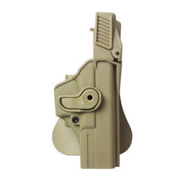 IMI Defense Level 3 Holster Kunststoff Paddle für G17/22/31 tan