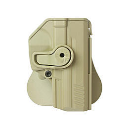 IMI Defense Level 2 Holster Kunststoff Paddle f�r H&K P30 Tan