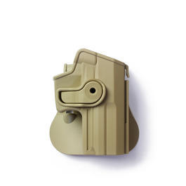 IMI Defense Level 2 Holster Kunststoff Paddle für H&K USP Compact tan