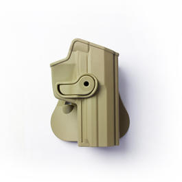IMI Defense Level 2 Holster Kunststoff Paddle für H&K USP .45 tan