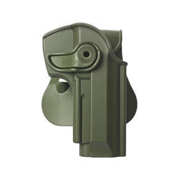 IMI Defense Level 2 Holster Kunststoff Paddle für Beretta 92 Modelle OD