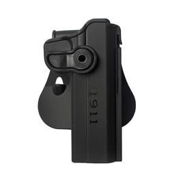 IMI Defense Level 2 Holster Kunststoff Paddle für 1911 Modelle schwarz