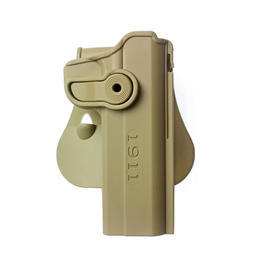 IMI Defense Level 2 Holster Kunststoff Paddle für 1911 Modelle tan