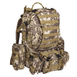 Mil-Tec Rucksack Defense Pack Assembly 36 ltr. mandra tan